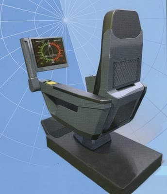 Integrated automated workstation of a commander